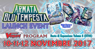 LAUNCH EVENT - ARMATA BLU TEMPESTA