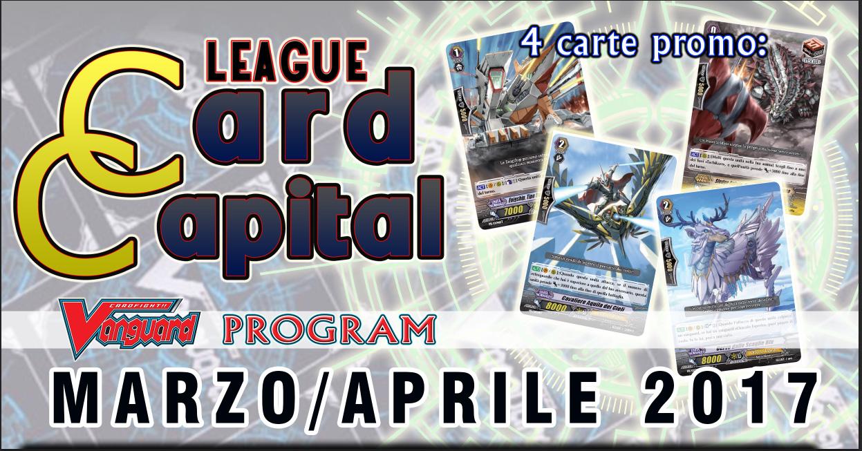 Card Capital League MARZO-APRILE 2017