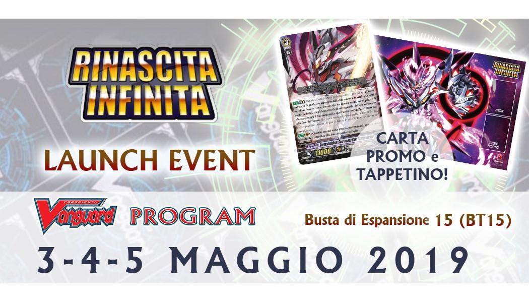 LAUNCH EVENT - RINASCITA INFINITA