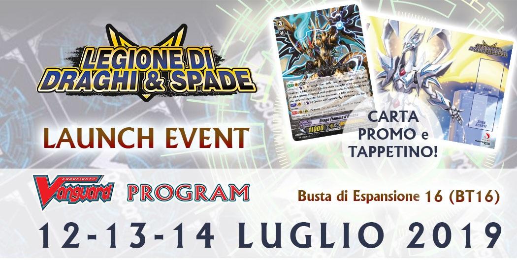 LAUNCH EVENT - LEGIONE DI DRAGHI & SPADE