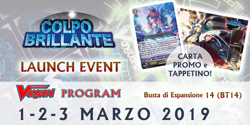 LAUNCH EVENT - COLPO BRILLANTE
