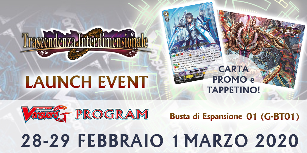 LAUNCH EVENT - TRASCENDENZA INTERDIMENSIONALE