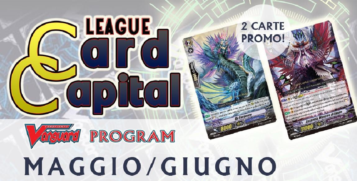 Card Capital League MAGGIO-GIUGNO 2019