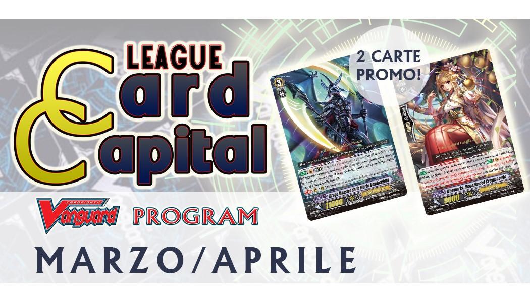 Card Capital League MARZO-APRILE 2019