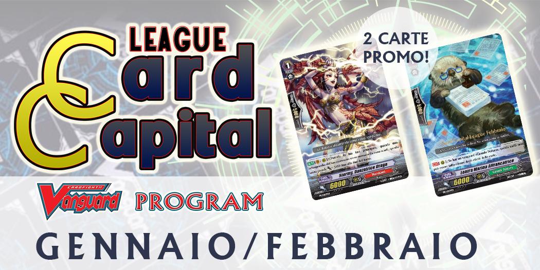 Card Capital League GENNAIO-FEBBRAIO 2018