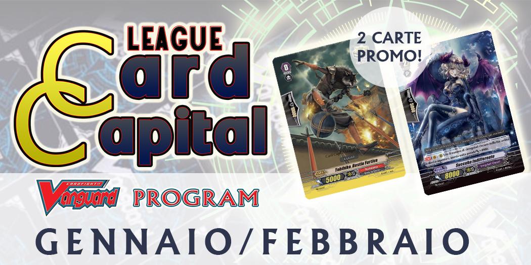 Card Capital League GENNAIO-FEBBRAIO 2019