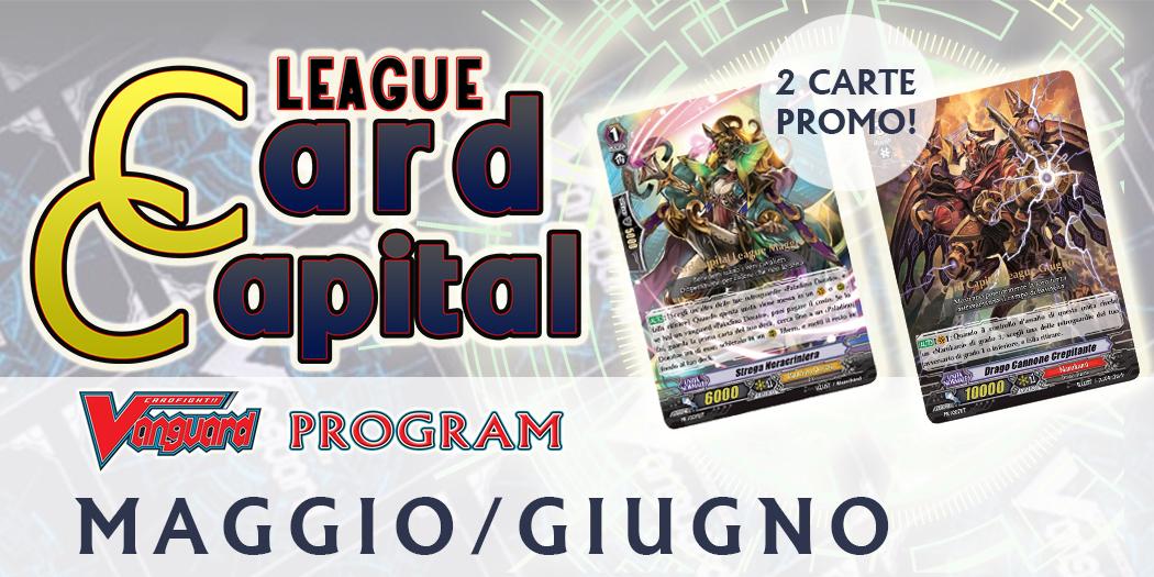 Card Capital League MAGGIO-GIUGNO 2018