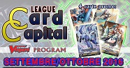 Card Capital League SETTEMBRE-OTTOBRE 2016