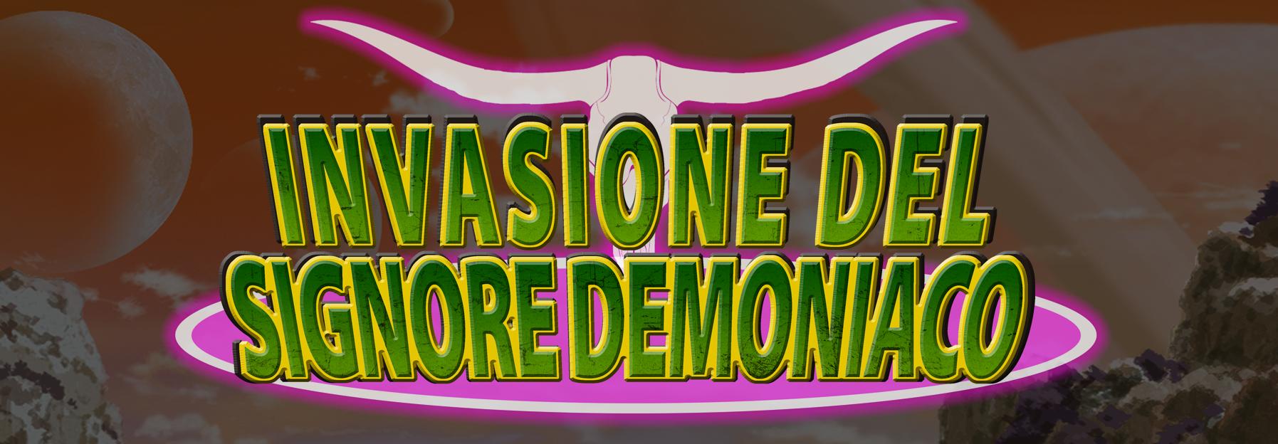 BUSTA BT03: INVASIONE DEL SIGNORE DEMONIACO
