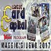 Card Capital League MAGGIO-GIUGNO 2017