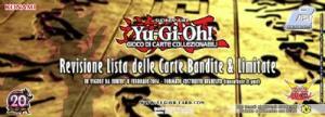Yu-Gi-Oh! GCC: Revisione Lista Carte Bandite & Limitate in vigore dall'8 febbraio 2016