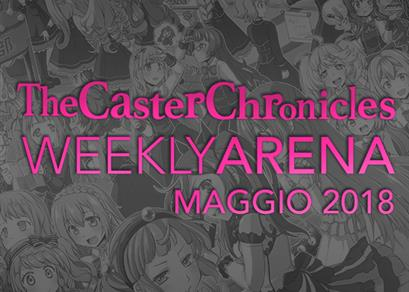 Weekly Arena Maggio 2018