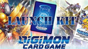 Digimon Card Game Launch Kit