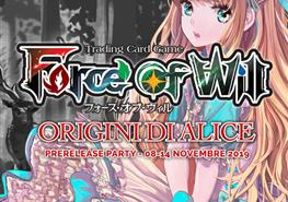 Prerelease Party: Origini di Alice