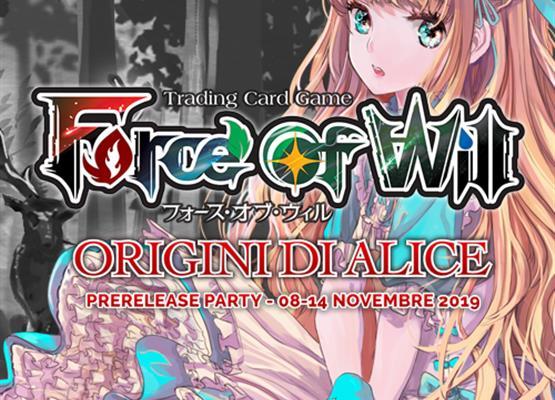 Prerelease Party: Origini di Alice