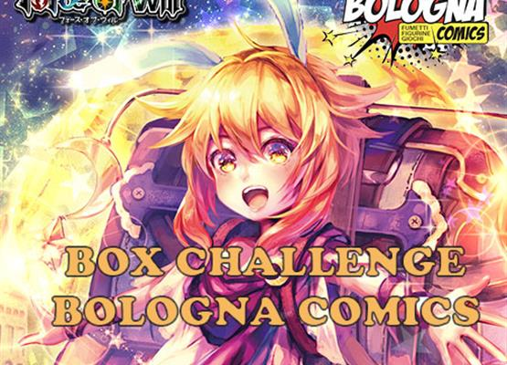 Box Challenge Bologna Comics