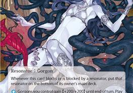 The Infernal Medusa, the terrible Gorgon