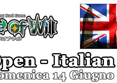 UK Open - Italian Trial