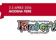FoW TCG: Programma Modena Play 2016