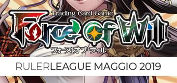 Ruler League - Maggio 2019