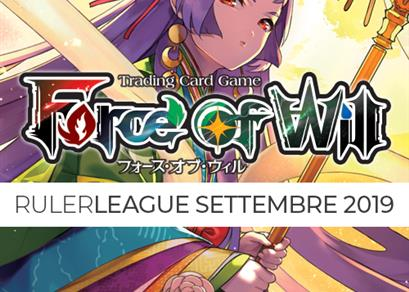 Ruler League - Settembre 2019