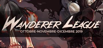 Wanderer League Ottobre-Novembre-Dicembre 2019