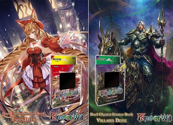Nuovi Starter Decks: Tales Deck e Villains Deck