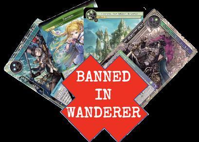 Wanderer Banned list - 21 Giugno 2021