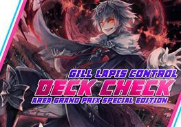 Deck Check AGP Special Edition : Lapis Control