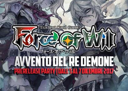 Prerelease Party: Avvento del Re Demone