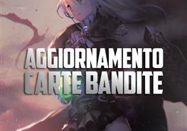 Aggiornamento Carte Bandite del 09/10/2017