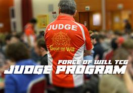 Force of Will TCG Judge Program