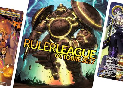 Ruler League - Ottobre 2017