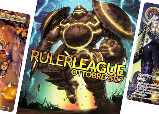 Ruler League - Ottobre 2017