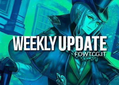 WEEKLY UPDATE 30/01/17
