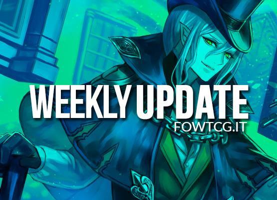 WEEKLY UPDATE 07/12/16