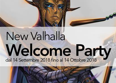 New Valhalla Welcome Party