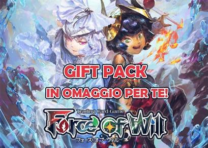 Prenota il tuo Gift Pack!  (Iniziativa Conclusa)
